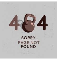 Error 404 Sorry Page Not Found Image vector