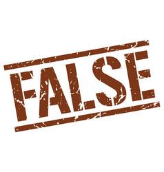 False stamp vector