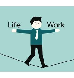 lifeandwork vector image