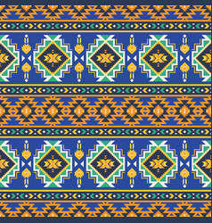 Native southwest american aztec navajo seamless vector