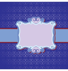 seamless invitation vector image