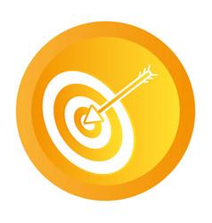 shooting target cartoon vector image