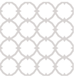 subtle ornamental seamless pattern vector image