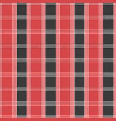 seamless tartan pattern red and grey kilt fabric vector image vector image