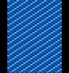 Blue weave texture geometric seamless background vector image vector image