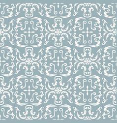 Damask seamless classic pattern vector