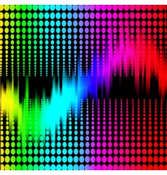 Abstract background with spectrum vector