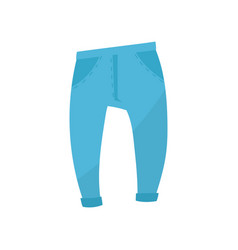 blue sweatpants boys wear on vector image