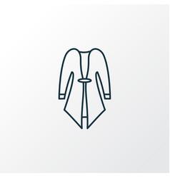 Cardigan icon line symbol premium quality vector