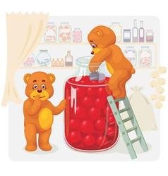Cartoon bears vector