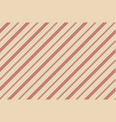 classic beige red striped seamless texture vector image