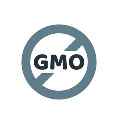 gmo free emblems vector image