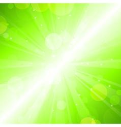 Green blur vector image