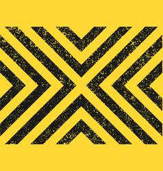 seamless grunge security yellow black diagonal vector image
