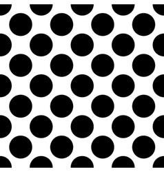 Seamless polka dot vector