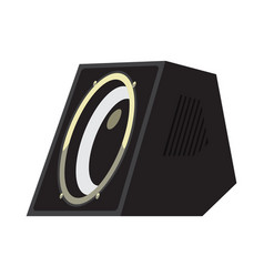 acoustic systems for producing music at parties vector image