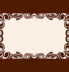 Background with wavy pattern vector