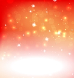Bright Red Orange Abstract Xmas Background With vector