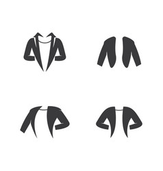 clothing logo template vector image