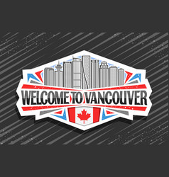 logo for vancouver vector image