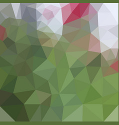 low poly geometric background vector image