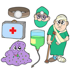 Medical collection 2 vector