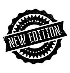 New edition stamp vector