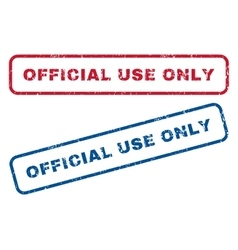 Official Use Only Rubber Stamps vector