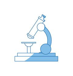 school microscope science biology icon vector image vector image