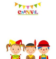 Poster children in disguise vector
