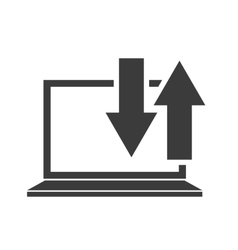 usefull app for laptop vector image