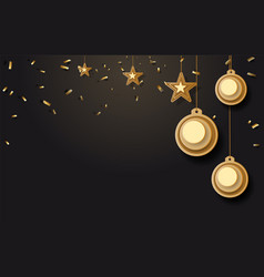 christmas background with vector image
