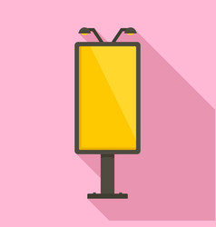 City lightbox icon flat style vector