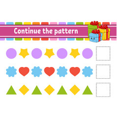 Continue pattern education developing vector