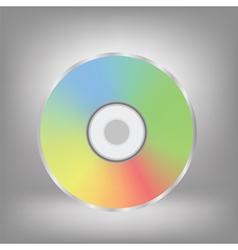 Disc icon vector