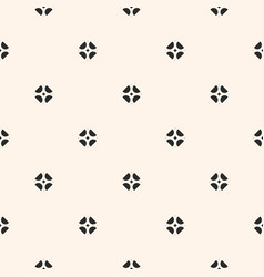 Geometric floral ornament seamless texture vector