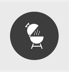 grill icon simple vector image vector image