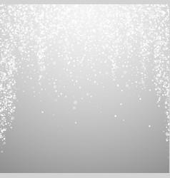 Magic stars christmas background subtle flying sn vector