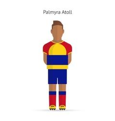 Palmyra Atoll football player Soccer uniform vector