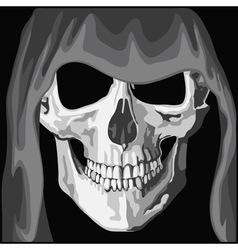 Skull in mantle vector