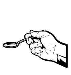Spoon Full vector