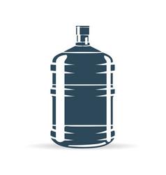 Water bottle blue vector