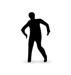 Zombie icon vector