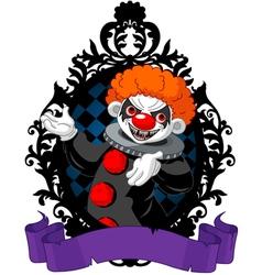 Halloween Clown vector image vector image