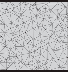 geometric simple pattern with triangles vector image