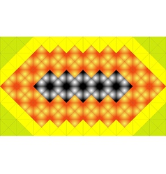 Mosaic structure vector image vector image