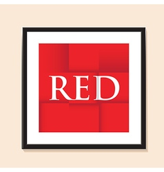 red paper background vector image vector image