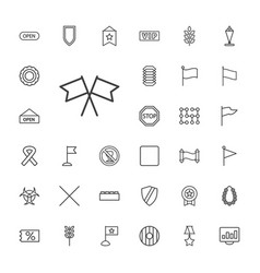 33 banner icons vector