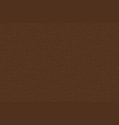 Hand drawn brown animal fur texture seamless vector