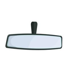 Rear view mirrors iconcartoon icon vector